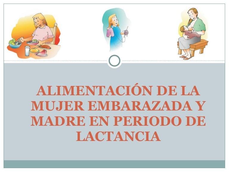Nutricion y alimentacion en el embarazo y lactancia pdf