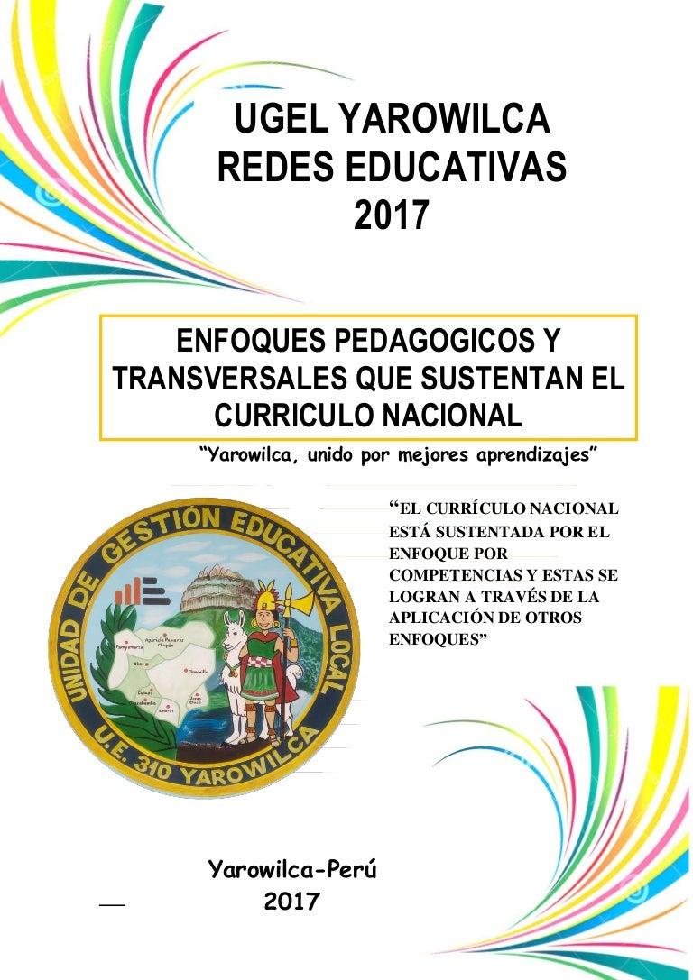 Modulo III - Enfoques Pedagógicos y Transversales que sustentan el Cu…
