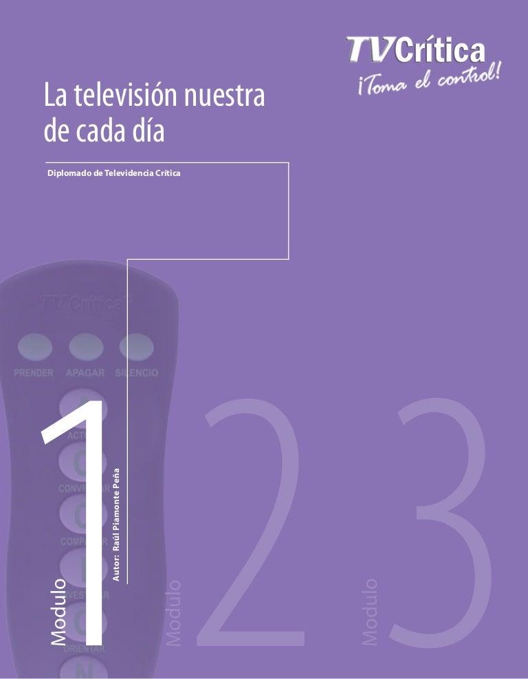 Diplomado de Televidencia Crítica - Módulo uno  La Televisión nuestra… 4be82deb3f6