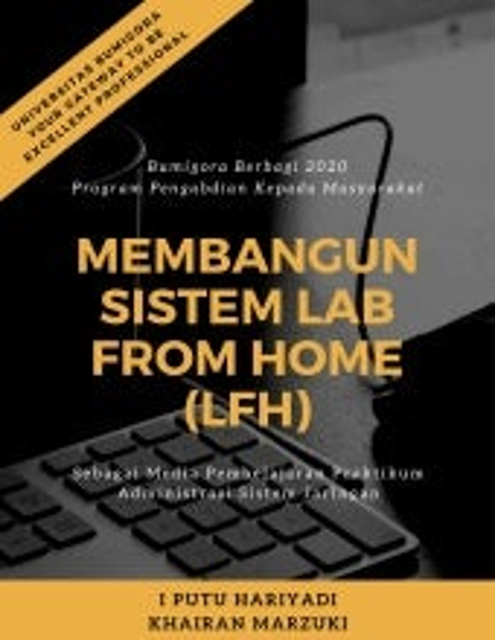 Modul Training Membangun Sistem Lab From Home (LFH)