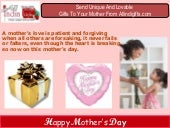 Mothers Day Gifts To India,Buy Mother's Day Gifts,Online Mother Day Gift India - Allindiagifts.com