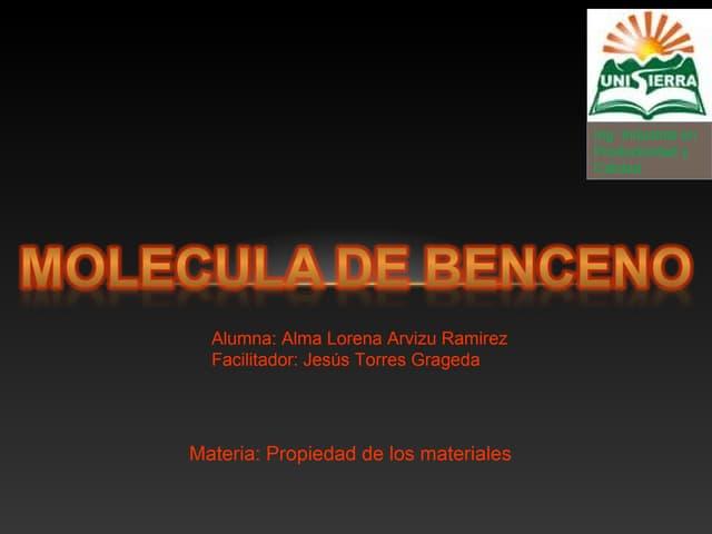 Molecula de benceno