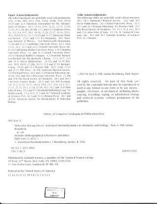 Molecular driving force by ken a dill, sarina bromberg