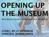 Opening Up Museums