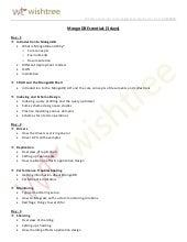Mongo DB Essentials (Duration - 3 days) training by Wishtree in Pune/Mumbai/Gurgaon/Bengaluru/Chennai/Hyderabad