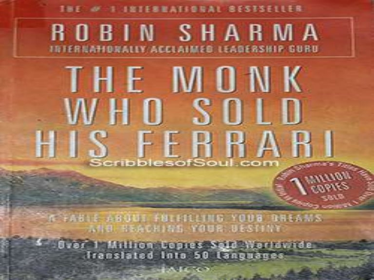 The Monk Who Sold His Ferrari Robin Sharma Pdf