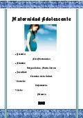 Monografía maternidad adolescente