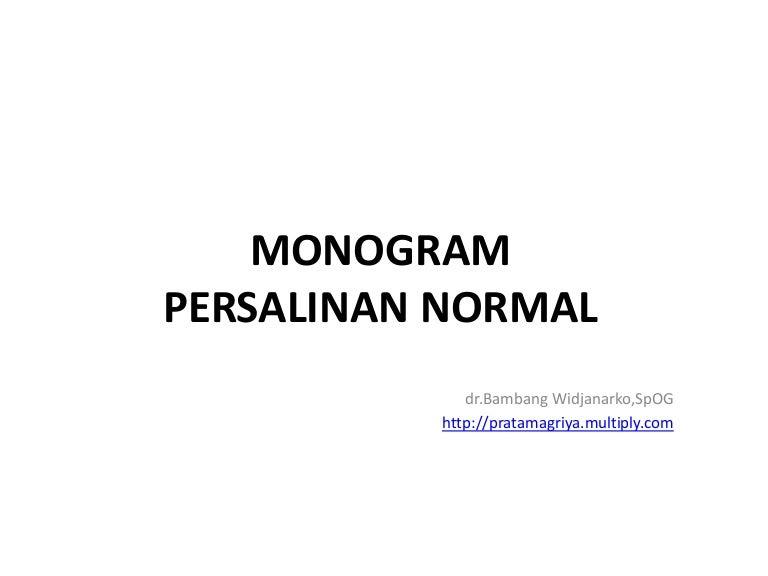 Monogram Persalinan Normal