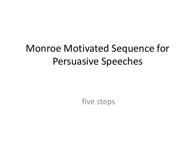 Monroemotivated sequence