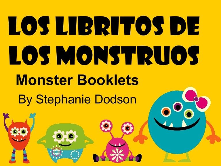 Spanish lessons with a monster