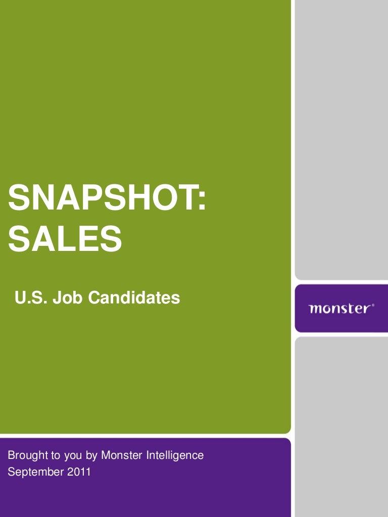 2011 s job candidate career outlook monster com