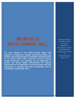 Monster Term Paper Final Draft (Recovered)