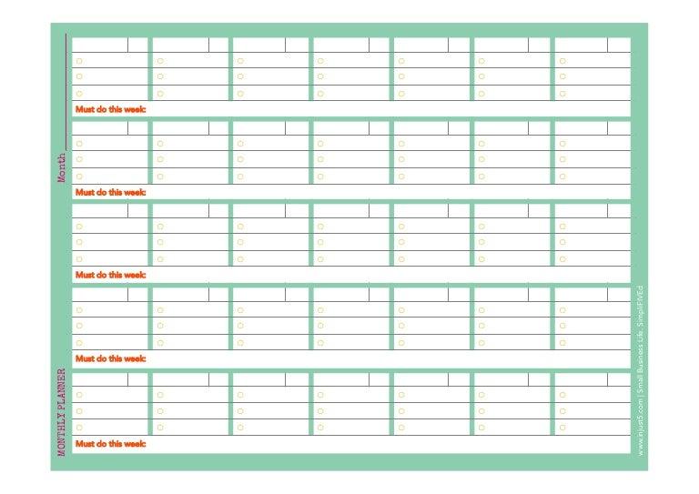 Monthly Weekly Calendar Template from cdn.slidesharecdn.com