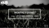 Monthly Giving - The Strategy You Need In 2016 And How You Can Do It