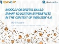 MOOCs for digital skills:smart education experiences in the context of Industry 4.0