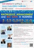 MOOC: ISE101x Knowledge Management and Big Data in Business