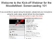 Moodle meet screencasting_flipped_classroom