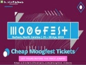 Cheap Moogfest 2019 Tickets and 2019 Lineup
