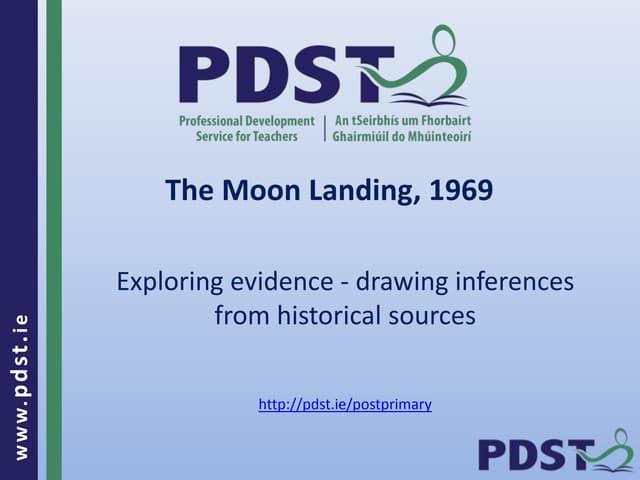 The Moon Landing, 1969