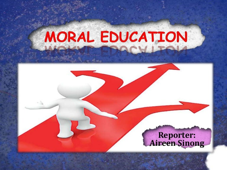 "the important of moral education But morality, in addition to raw academics, plays an important role in society it  raises an important question, ""who is responsible for teaching morality."