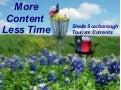 More content marketing in less time