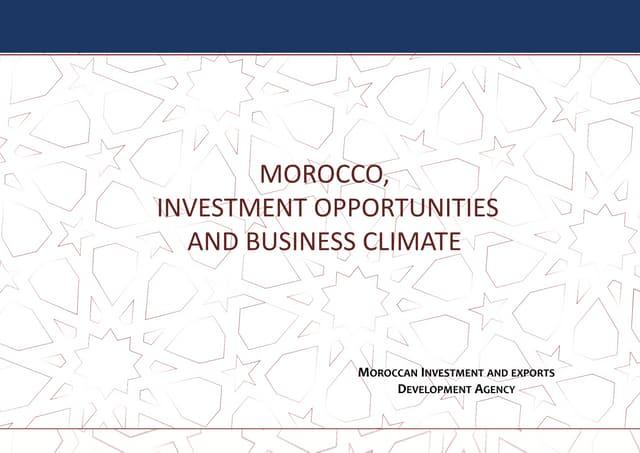 Africa Singapore Business Forum 2018   Morocco