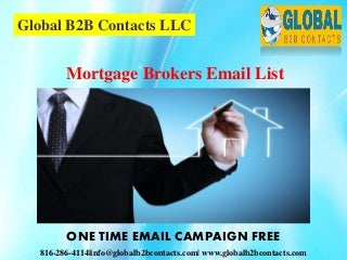 Mortgage brokers email list