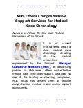 Mos offers-comprehensive-support-services-for-medical-case-chronology