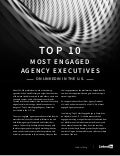 Top 10 Most Engaged Agency Executives on LinkedIn in the United States