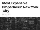 Most Expensive Properties in NYC, by David Hochfelder