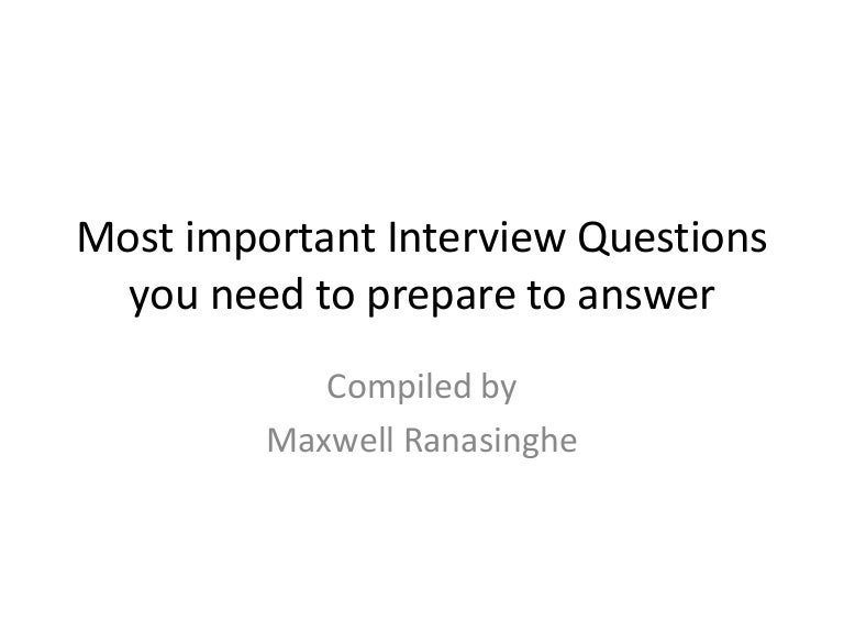 common interview questions - Nhs Interview Questions Healthcare Interview Questions And Answers