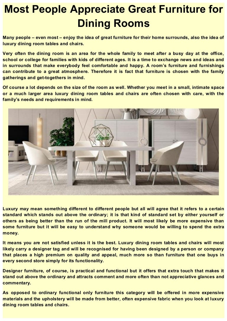 How to care for expensive furniture 6