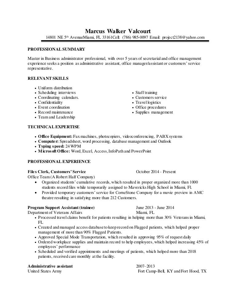 most qualified resume