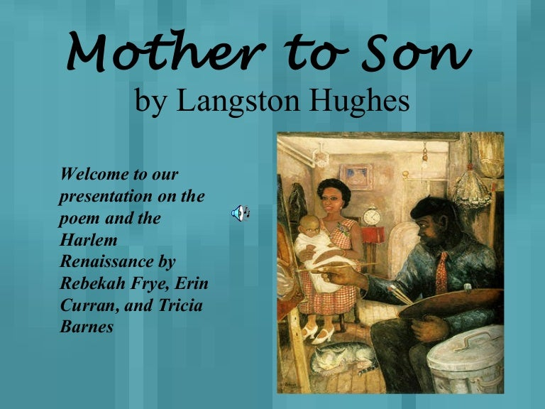 Moms Poems From Son 1