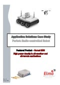 Motion control application for-radio controlled robot