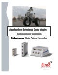 Motion control solutions unmanned vehicles