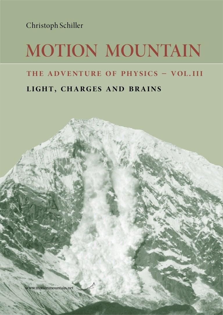 Motionmountain volume3