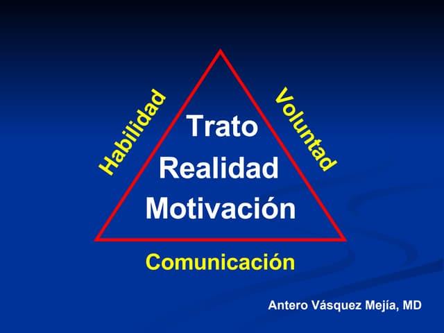 MotivacióN Y Trato En Medicina