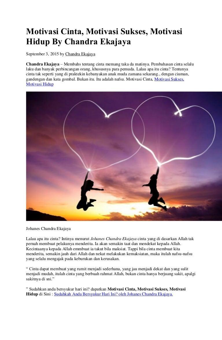 7700 Koleksi Gambar Motivasi Hidup Dan Cinta Gratis Terbaru