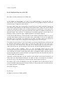 Open sollicitatie Motivatiebrief