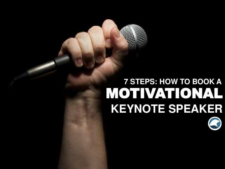 Booking a Motivational Keynote Speaker