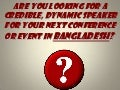 Motivational Speakers in Bangladesh, List of motivational speakers in Bangladesh, Motivational Speaker Bangladesh