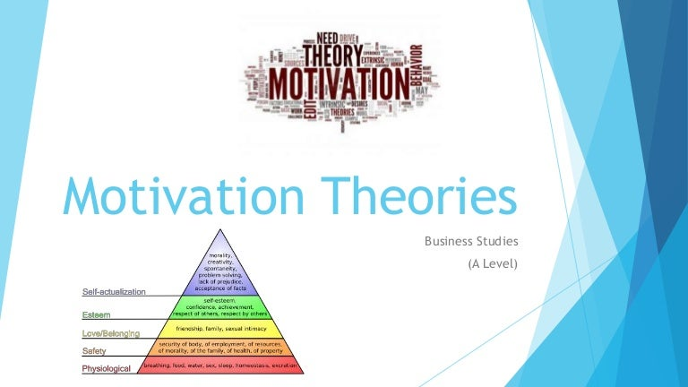 motivational theory management Motivational theory in an organization has to do with the way in which a company motivates its employees to perform as a group and within their individual job roles organizational management.