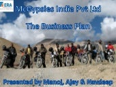 Business Proposal ppt on a Motor Cycle based Adventure Company