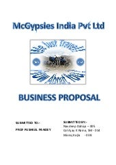Motorcyle gypsies - a business proposal document
