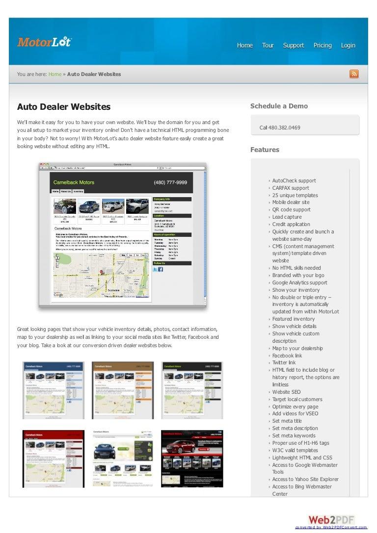 Used Car Dealerships Websites >> Used Car Dealership Software