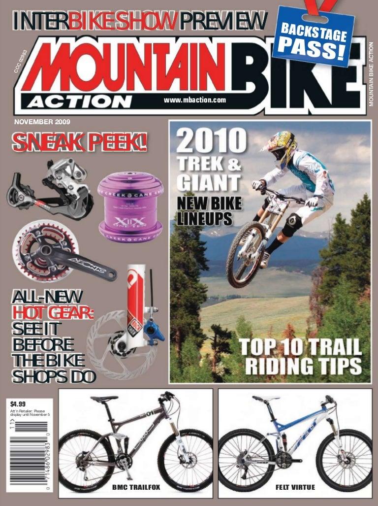 Mountain Bike Action noviembre