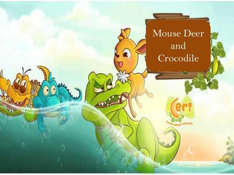 Gambar Mouse Deer And Crocodile
