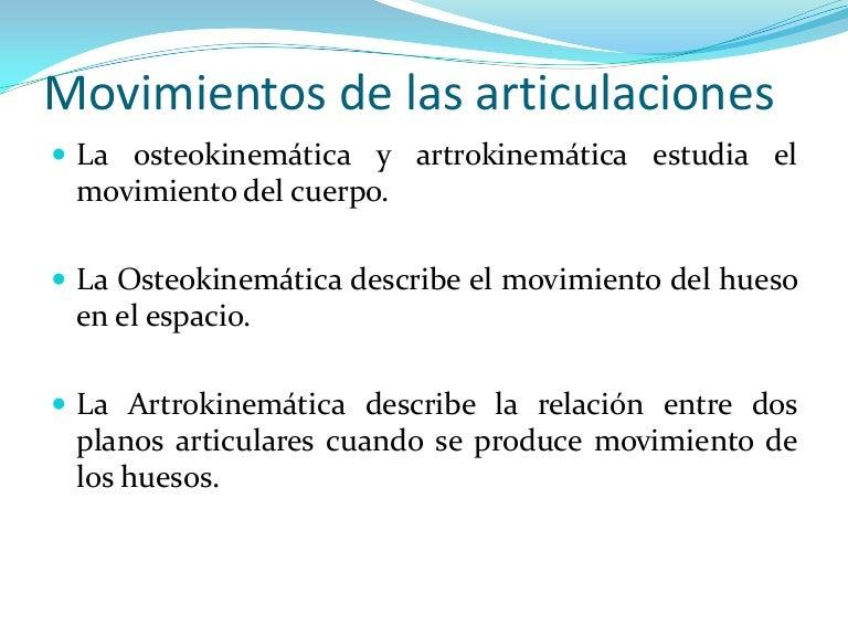 desplazamientos outer surface articulares