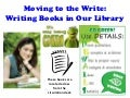 Moving to the write writing book powerpoints